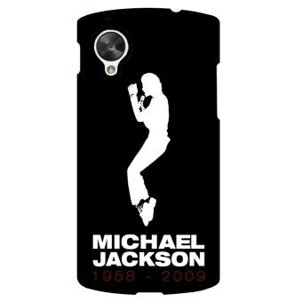 Michael Jackson Pattern Phone Case for LG Nexus 5 (Black)