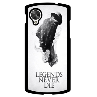 Michael Jackson Pattern Phone Case for LG Nexus 5 (Grey)