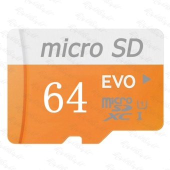Micro SD Card 48MB/s 64GB EVO Class10 SDHC/SDXC Memory TF Card(Orange) - intl