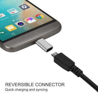Micro USB to USB C Adapter,Type C Adapter, [3Pack] GogerstarConvert Connector, Data Syncing and Charging,Universal for GalaxyS8 S8 Plus,MacBook,ChromeBook Pixel,Nexus 5X,Nexus 6P,OnePlus 2 andMore - intl - 4