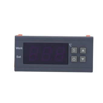 Mini Digital Temperature Controller 220V 10A LCD Display Thermostatfor Refrigerators Farms - intl - 4