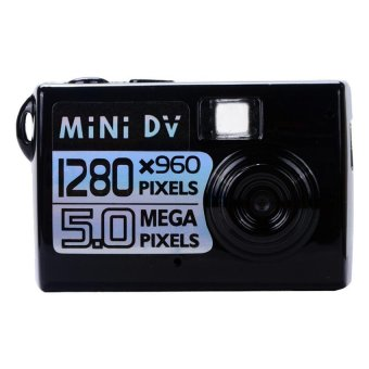 Mini DV 5MP Digital Camera (Black)