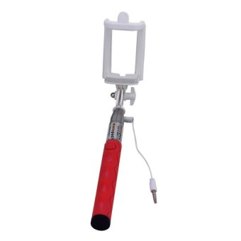 Mini Handheld Extendable Monopod (Red) - picture 4