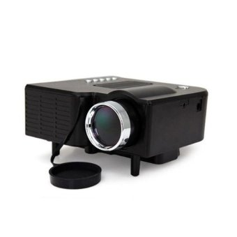 Mini  LED  Projector  LCD  Image  System  (Black)