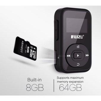 ... Mini Original RUIZU X26 Clip Bluetooth MP3 player 8GB SportBluetooth Mp3 Music Player Recorder FM Radio ...