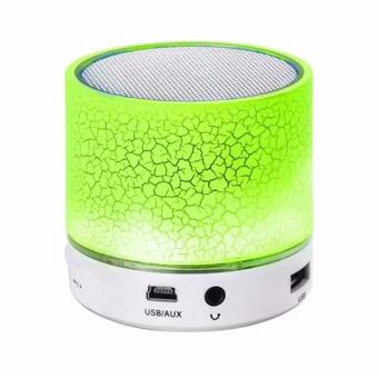 Mini Portable Bluetooth Wireless Speaker with Colorful LED LightBuilt-in Mic Support USB AUX TF SD Card Price Philippines