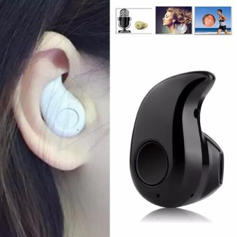 Mini Style Wireless Bluetooth Headphone 1pcs In-Ear V4.1 Stealth Earphone Phone Headset Handfree Universal For All Phone(Black)