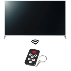 Mini Universal Infrared IR TV Set Remote Control Keychain Key Ring 7 Keys - intl