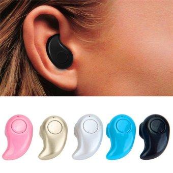 Mini Wireless in-ear Earpiece Bluetooth Earphone Sport Headphone Stereo in ear Cordless Headset For Phone iPhone Samsung Earbuds - intl - 5