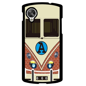 Minibus Teal Pattern Phone Case for LG Nexus 5 (Black) - picture 2