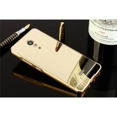 Mirror Metal Frame phone case for Lenovo Vibe P2(Gold) - intl