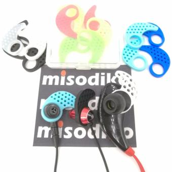 misodiko (S/M/L) Replacement Earfins In Ear Tips Fins compatiblefor Jaybird X X2 Earphone and Many In-ear Sport Headphones(3-Pairs) - intl - 3