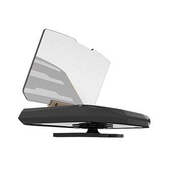 Mobile GPS Navigation Bracket HUD Head Up Display For Smart PhoneCar Mount Stand Phone Holder Safe