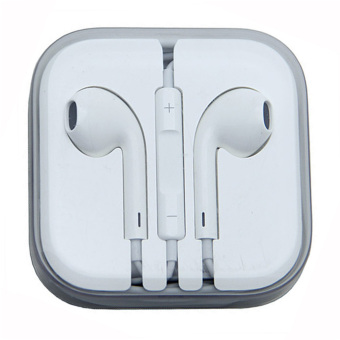 Model Stereo Earphone for iPhone (White)