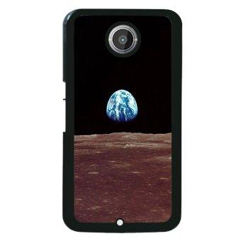 Moon Night Pattern Phone Case for Motorola Nexus 6 (Multicolor)