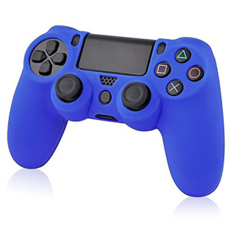 Moonar Flexible Silicone Protective Skin for Sony PS4 GameController (Blue) Price Philippines