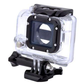 Moonar RV77 Waterproof HD Dive Housing Case for Gopro Hero4 /Hero3+ / Hero3 (Transparent)