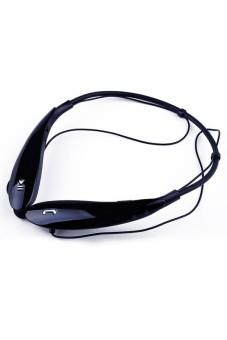 Moonar Stereo Bluetooth Wireless Sports Headsets Headphones Earphones (Black)
