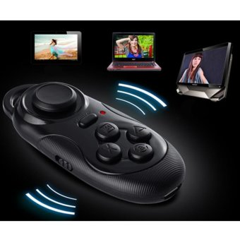Moonar Woreless VR Box Joypad Gamepad Joystick Controller with double shock for PS2 - intl Price Philippines