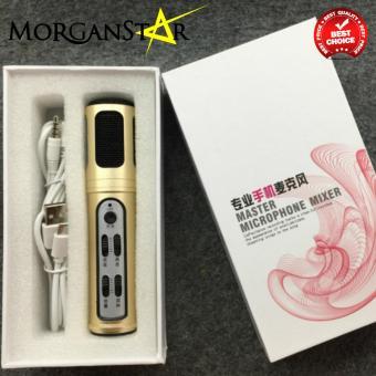 Morganstar Q30 Condenser Sound Recording Microphone (Black) - 3
