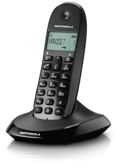 Motorola C1001LB Cordless Phone (Black)