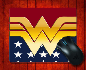 MousePad Wonder Women for 240*200*3mm Mouse mat Gaming Mice Pad -intl