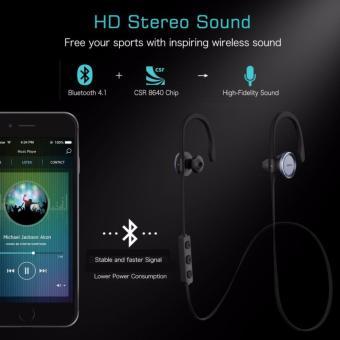 MPOW Goshawk V4.1 Bluetooth Headphones - 2