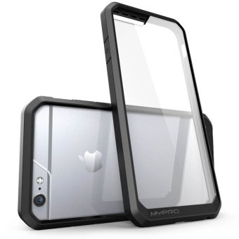 "MYPRO Unicorn Beetle Series Hybrid Bumper Cover for iPhone 6 Plus/6s Plus 5.5"" (Black)(…) - picture 2"