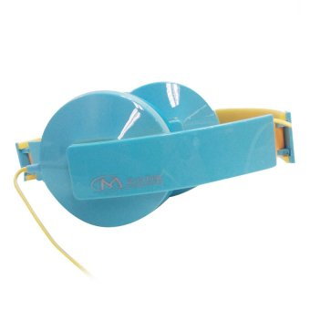 Mzone Over-The-Ear Headphone Light Blue