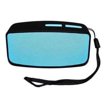 N10 Extreme Bluetooth FM Speaker (Blue) With Free Led Bracelet Watch (Black) - 3
