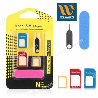 Nano SIM Adapter Nano to Micro SIM Micro SIM to Standard SIM CardAdapter 5 IN 1 Tools Kit Price Philippines
