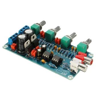 NE5532 OP-AMP HIFI Preamp Preamplifier Volume Tone EQ Control Board Module DIY - intl - 5