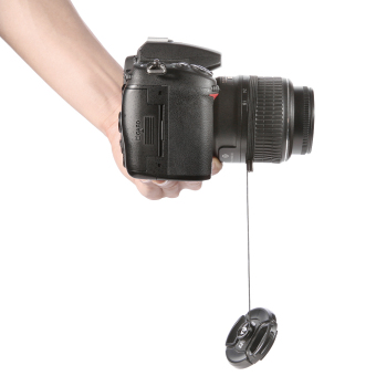 Neewer Lens Cap Keeper Holder for Canon Nikon Sony Pentax Fuji andall other SLR DSLR Cameras and Video Came