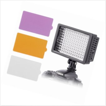 Neewer OE-160C Dimmable LED Barndoor On Camera Video Light forCanon - intl - 4