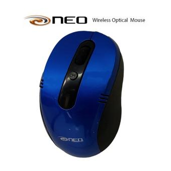 Neo Premium Wireless 2.4Ghz Optical Mouse (Blue)