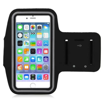 Neoprene Sports Gym Armband Cover for iPhone 7 Plus (Black)