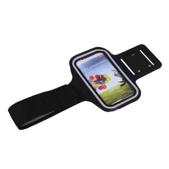 Neoprene Sports Gym Armband Cover For Samsung Galaxy S3/S4 (Black)