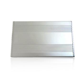 New 3.5 inch Silver USB 2.0 SATA External HDD HD Hard DriveEnclosure Case - 4