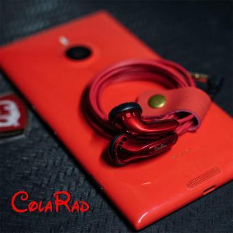 New Arrival CR01 3.5mm In-ear Earphones Flat Head Plug EarphoneHiFi Bass Earbuds Earbuds Dynamic Driver Copper without Mic - intl - 5