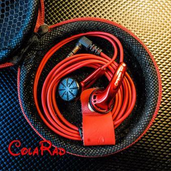 New Arrival CR01 3.5mm In-ear Earphones Flat Head Plug EarphoneHiFi Bass Earbuds Earbuds Dynamic Driver Copper without Mic - intl - 4