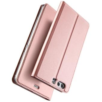 New Crashproof Flip Leather Magnet Phone Case for HUAWEI P10 PLUS - intl - 2