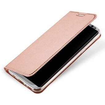 New Crashproof Flip Leather Magnet Phone Case for Samsung S8 - intl - 3