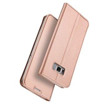 New Crashproof Flip Leather Magnet Phone Case for Samsung S8 - intl - 5