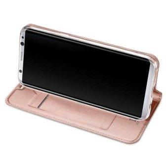 New Crashproof Flip Leather Magnet Phone Case for Samsung S8 Plus - intl - 4