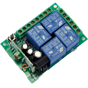 New DC 12V Wireless Remote Control Switch Module and Car Remote Control 433 - 2