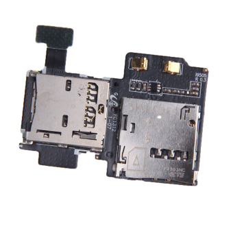 New Micro SD Card Reader SIM Tray Holder Flex Cable for SamsungGalaxy S4 - 3