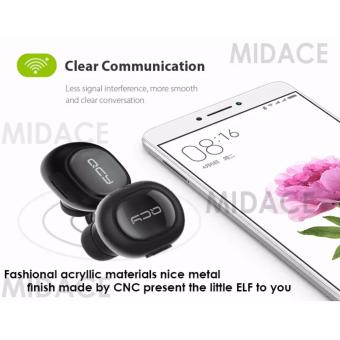New Original QCY Q-26 Pro Music and Call Bluetooth Earphone with Microphone (Black)