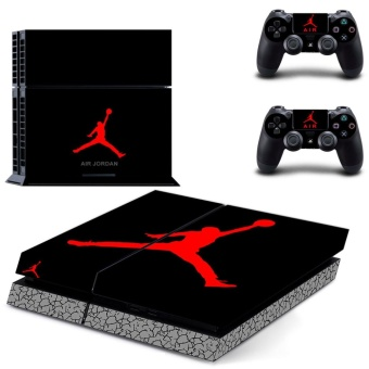new play basketball decal PS4 Skin Sticker For Sony Playstation 4 Console protection film +2Pcs Controllers protective cover - intl