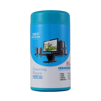New Screen Cleaning Cleaner Wet Wipes Tissues For Laptop TV Computer iPad - intl - 3
