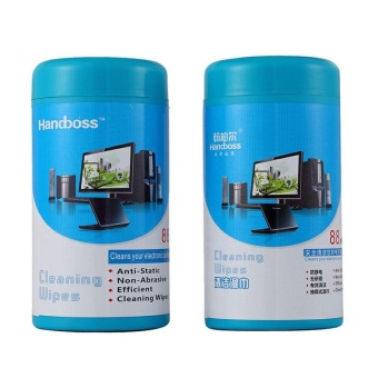 New Screen Cleaning Cleaner Wet Wipes Tissues For Laptop TV Computer iPad - intl - 2